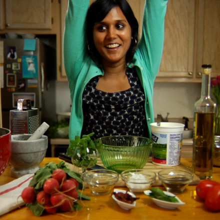 Interview With :    Chitra Agrawal, Director of Marketing at BlogTalkRadio & Founder of The ABCD's of Cooking
